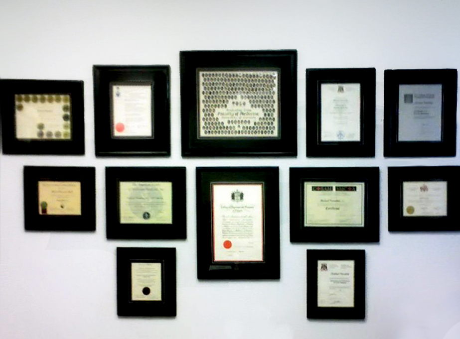 experienced and skilled picture framers
